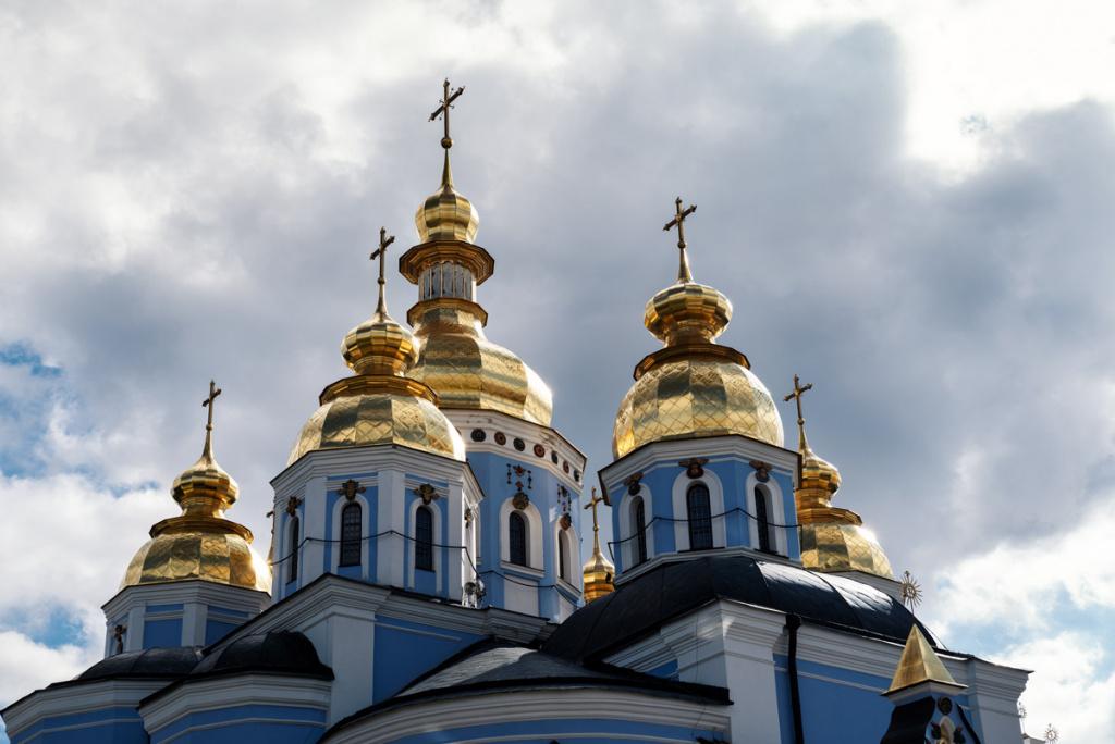 St. Michaels Golden-Domed Monastery