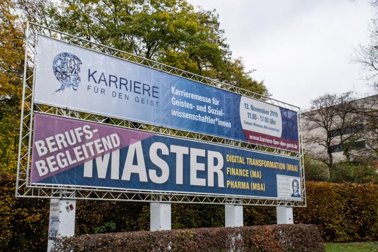 Karriere für den Geist Goethe Universität 2019