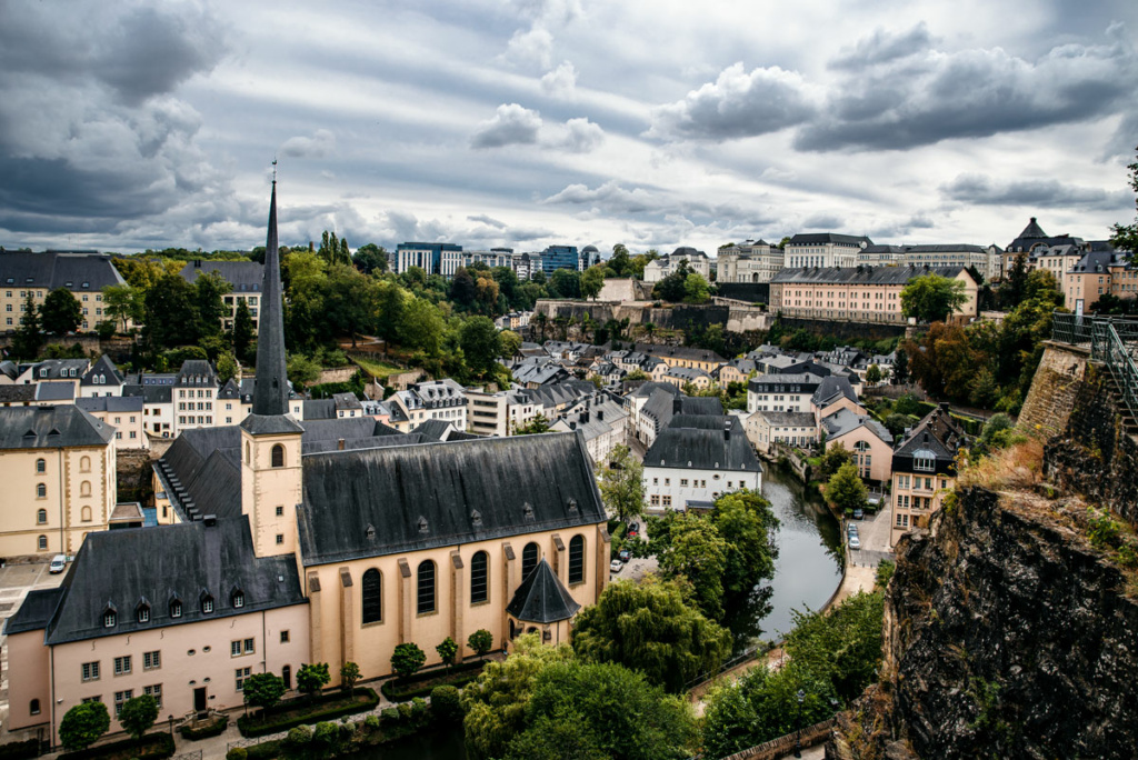 View Over Luxemburg City